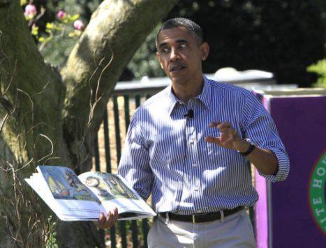 Obamas' White House Easter Egg Roll